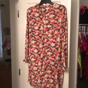 Gap Shift Style Long Sleeve Dress